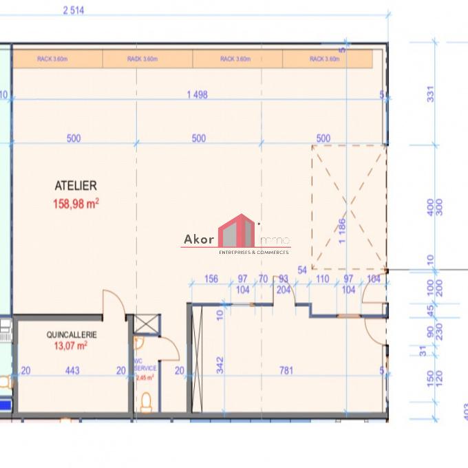 Location Immobilier Professionnel Local professionnel Monéteau (89470)